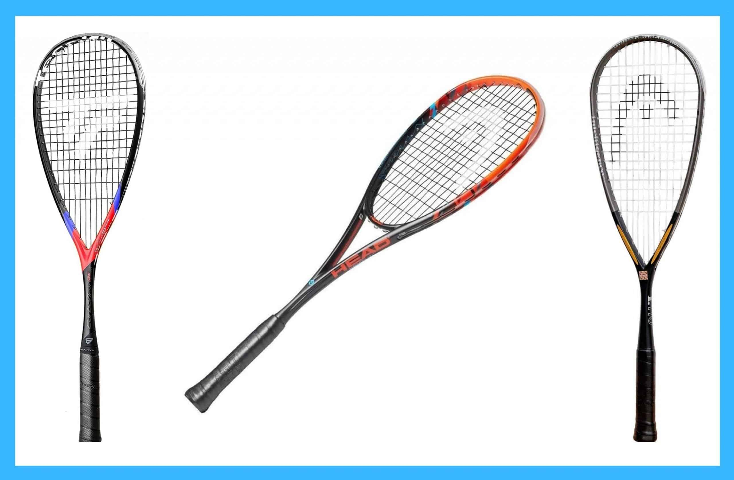 best squash racquets for beginners, intemediate & advanced squash players