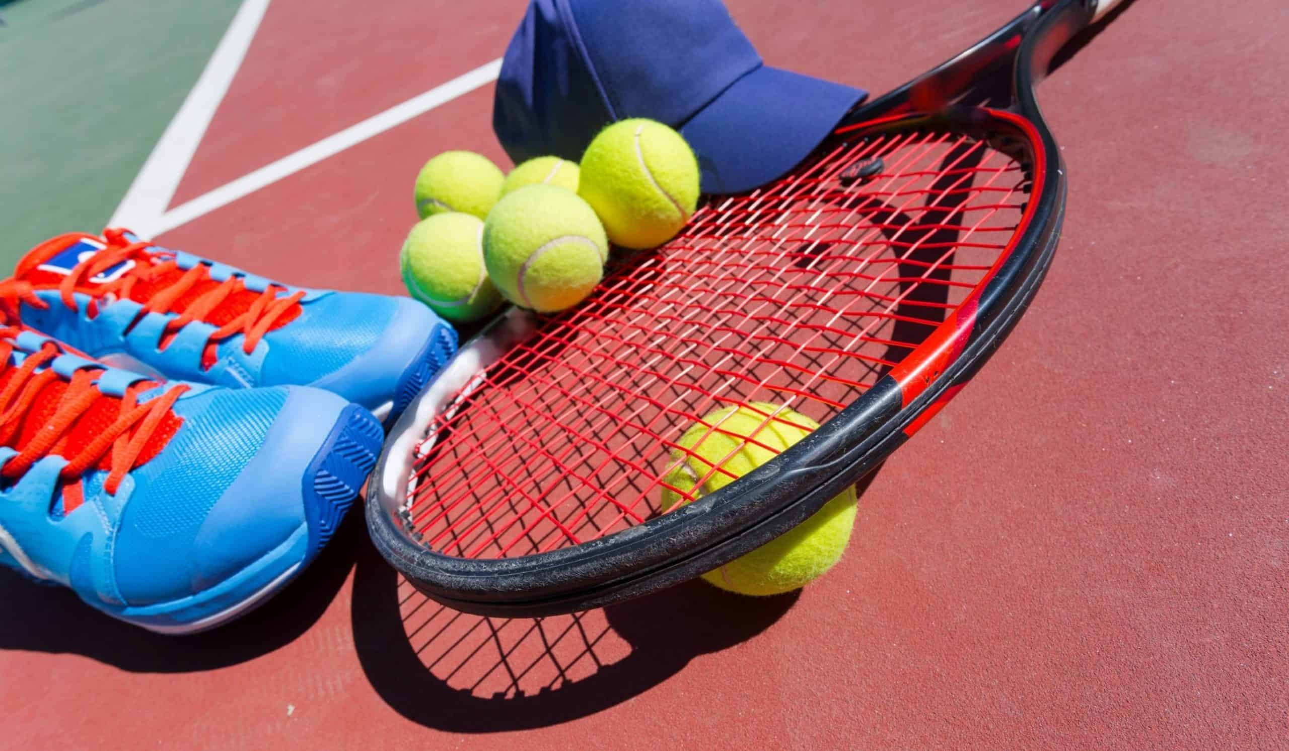 tennis equipment, tennis cap, tennis racket, tennis shoes, tennis balls, tennis equipment recommendations, Tennis Ball Pressurizer, Tennis Bags, Tennis Racket Strings, Tennis Grips, Tennis String Savers, Tennis Racket Vibration Dampeners, Tennis Shirts, Mens Tennis Shirts, Womens Tennis Shirts, Tennis Skorts, Skirts, Dresses & Shorts, Tennis Shorts Mens, Tennis Skirts, Skorts, Dress & Womens Tennis Shorts, Tennis Socks, Tennis Headbands and Caps, Tennis Ball Machines, Tennis Net, Tennis Net Posts , Tennis Ball Hopper, Tennis Court Squeegee
